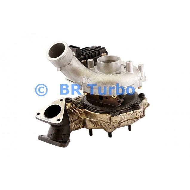 Taastatud turbokompressor AUDI Q5 3.0 TDI