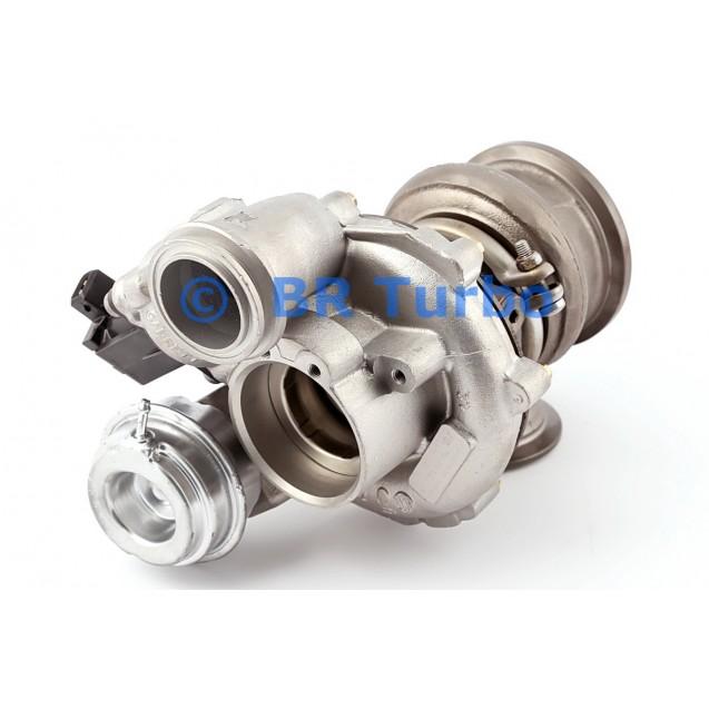 Taastatud turbokompressor BMW X6 4.4 D E71