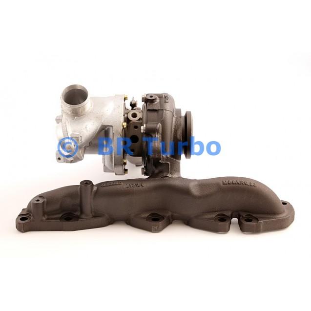 Taastatud turbokompressor AUDI A3 2.0 Sportback TDI
