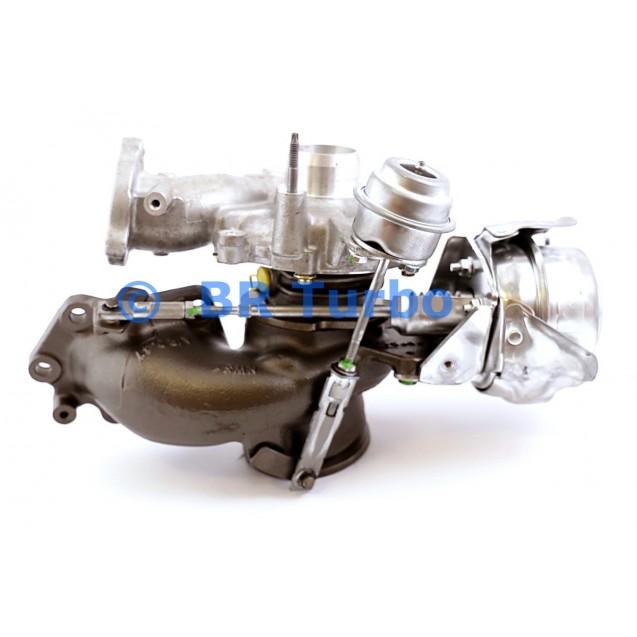 Taastatud turbokompressor GARRETT | 821942-5001RS