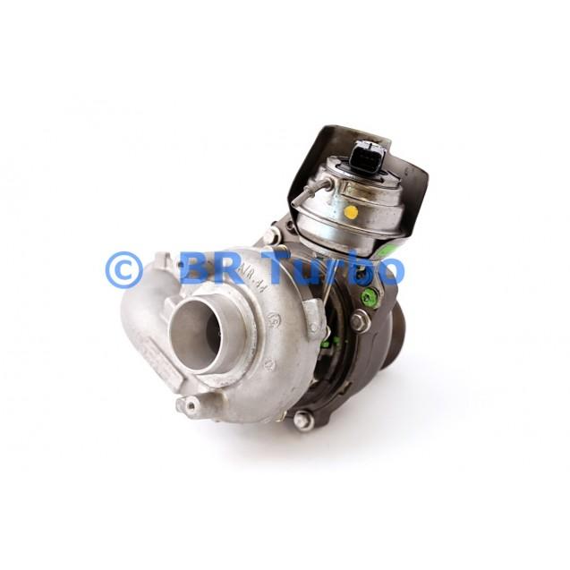 Taastatud turbokompressor FORD Focus 1.6 D