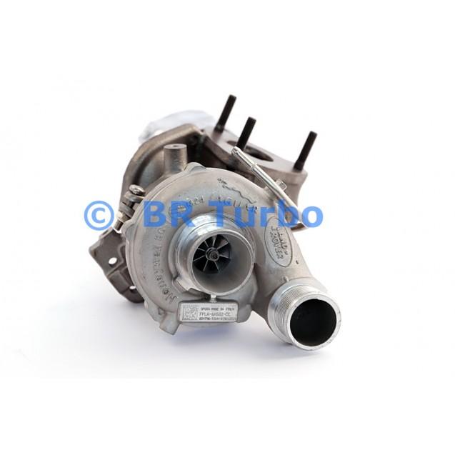 Taastatud turbokompressor LAND ROVER Range Rover 3.0 D