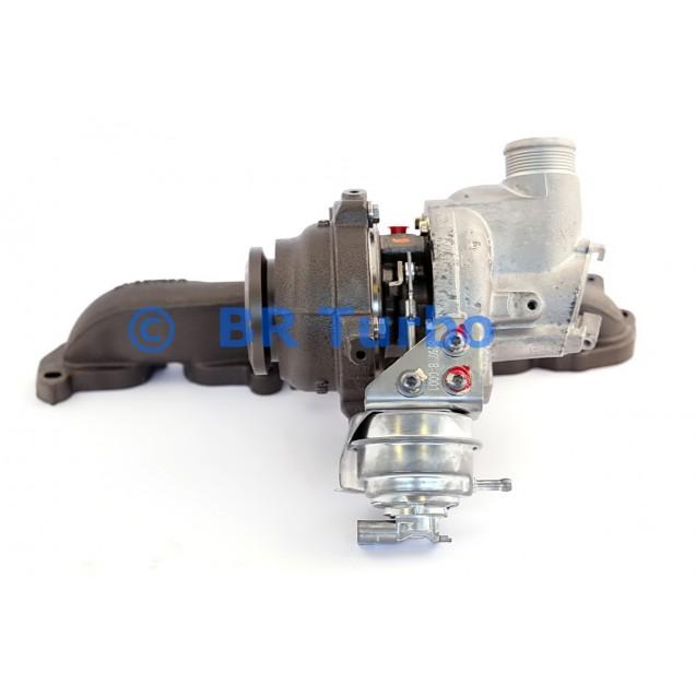 Taastatud turbokompressor AUDI A3 1.6 TDI