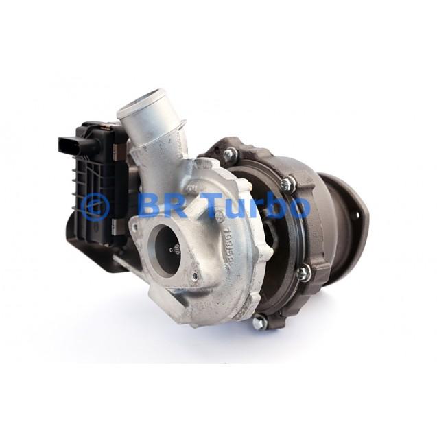 Taastatud turbokompressor FORD RWD 3.2 D