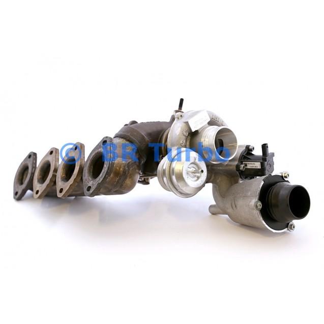 Taastatud turbokompressor MERCEDES PKW E Class 1.8 250 (W212)