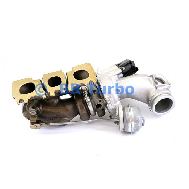 Taastatud turbokompressor IHI | A2760901480RS