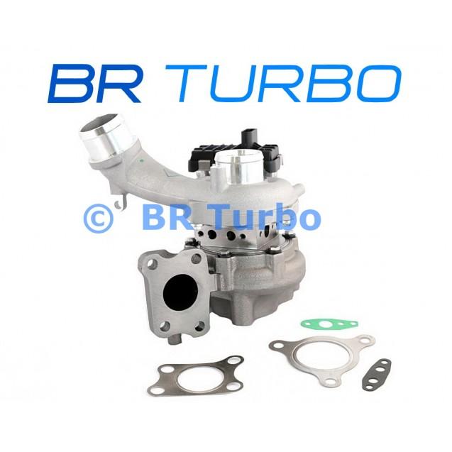 Uus turbokompressor BR TURBO    BRTX7019