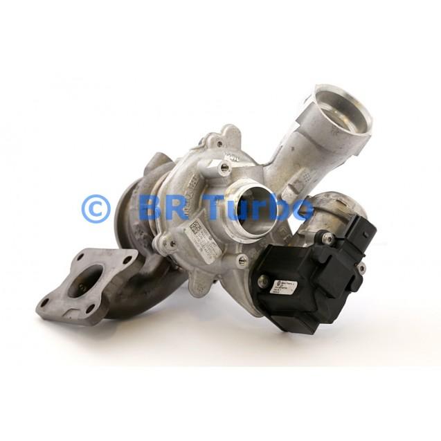 Taastatud turbokompressor AUDI A3 1.4 TSI