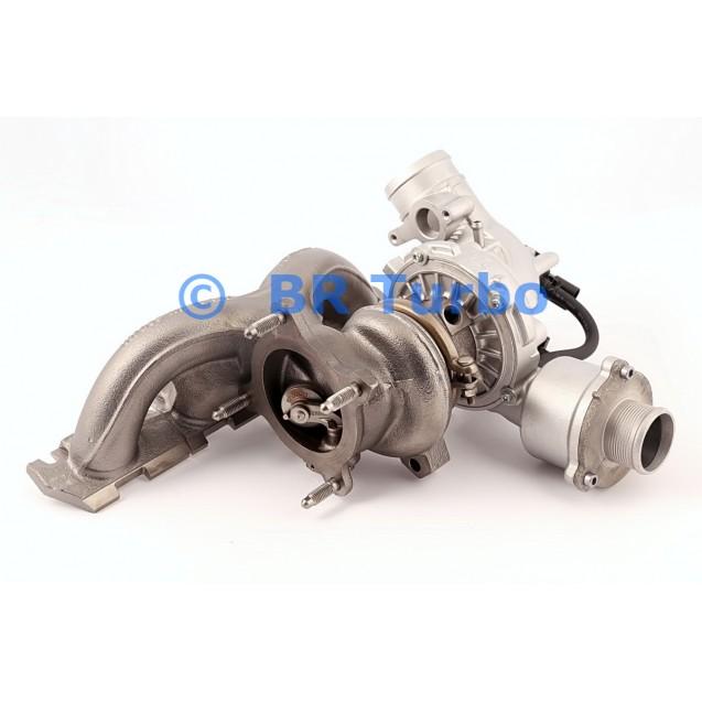 Taastatud turbokompressor AUDI Q5 2.0 TFSI