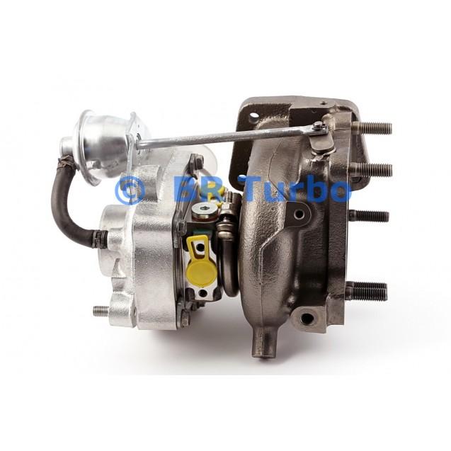 Taastatud turbokompressor MAZDA CX-7 2.3 MZR DISI