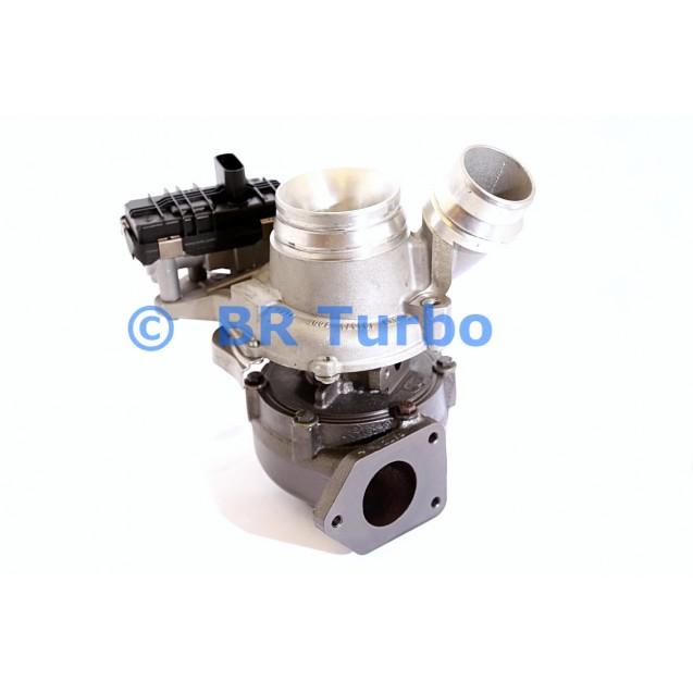 Taastatud turbokompressor BMW 118 2.0 D
