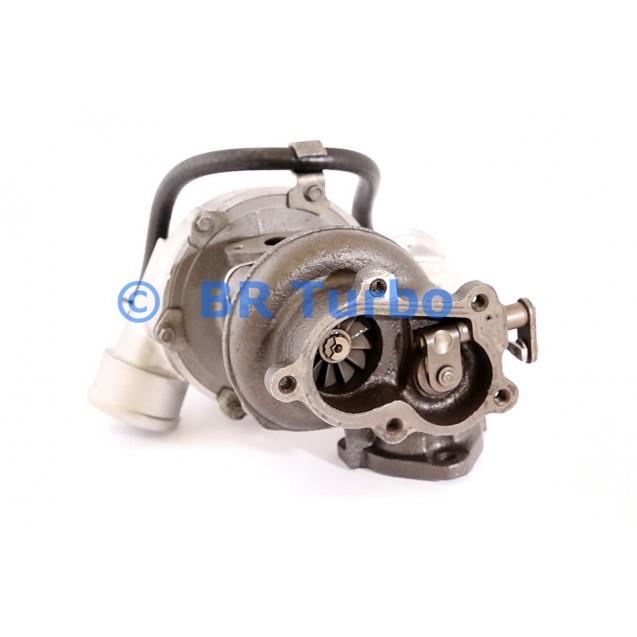 Taastatud turbokompressor JEEP Cherokee 2.5 TD