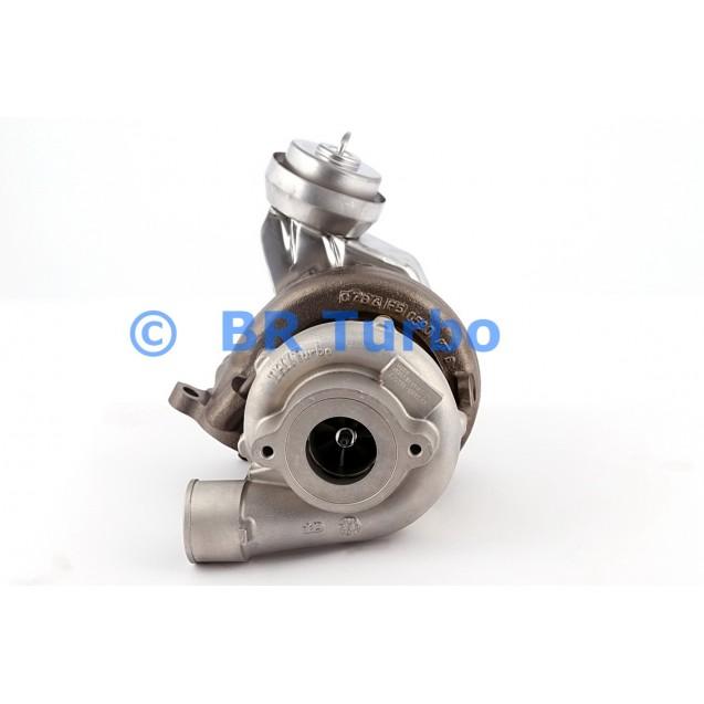 Taastatud turbokompressor TOYOTA Corolla 2.2 D-CAT