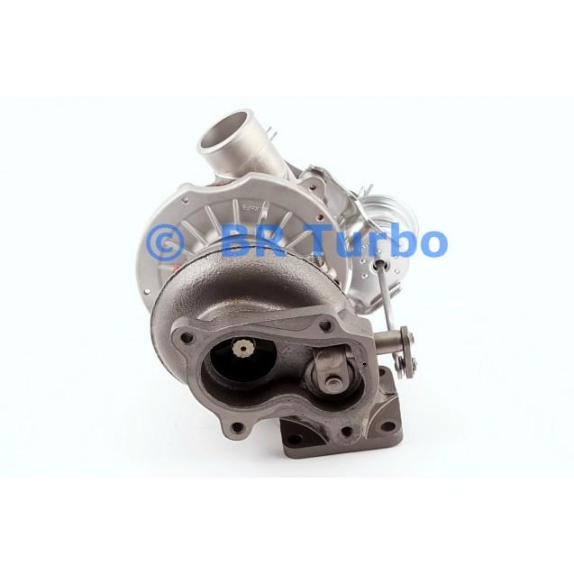 Taastatud turbokompressor OPEL Monterey A 3.1 TD