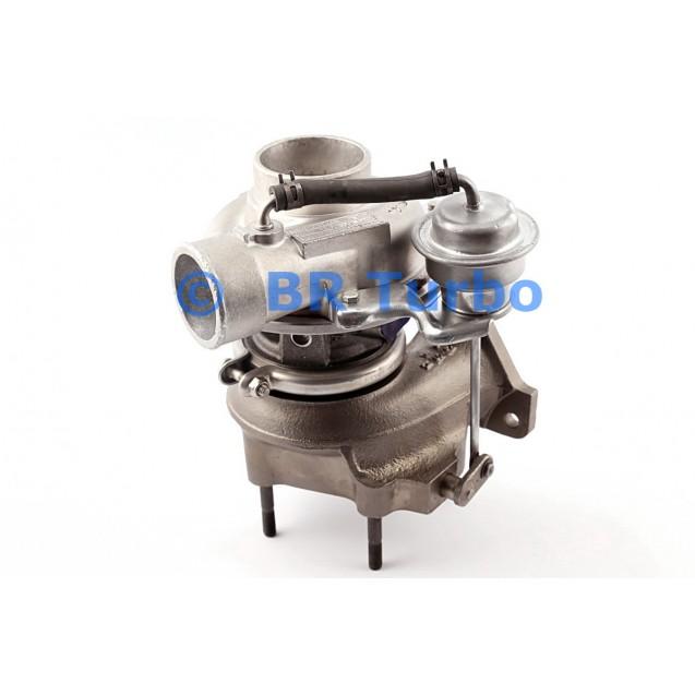 Taastatud turbokompressor ISUZU Bighorn 3.0 DTI