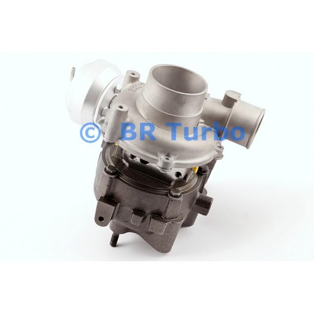 Taastatud turbokompressor RENAULT 5 2.0 CD