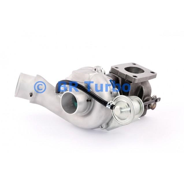 Taastatud turbokompressor FIAT Stilo 1.9 JTD