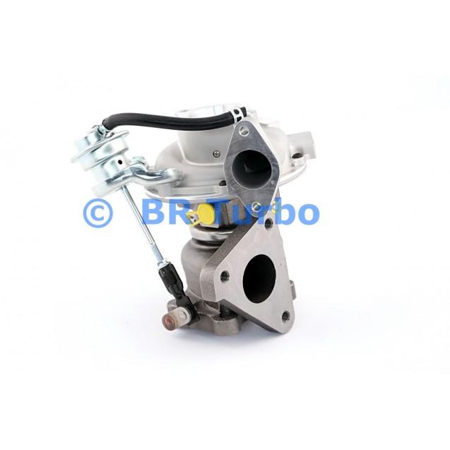 Taastatud turbokompressor IHI | VN4RS