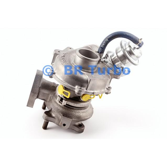 Taastatud turbokompressor MITSUBISHI L 200 2.5 TD