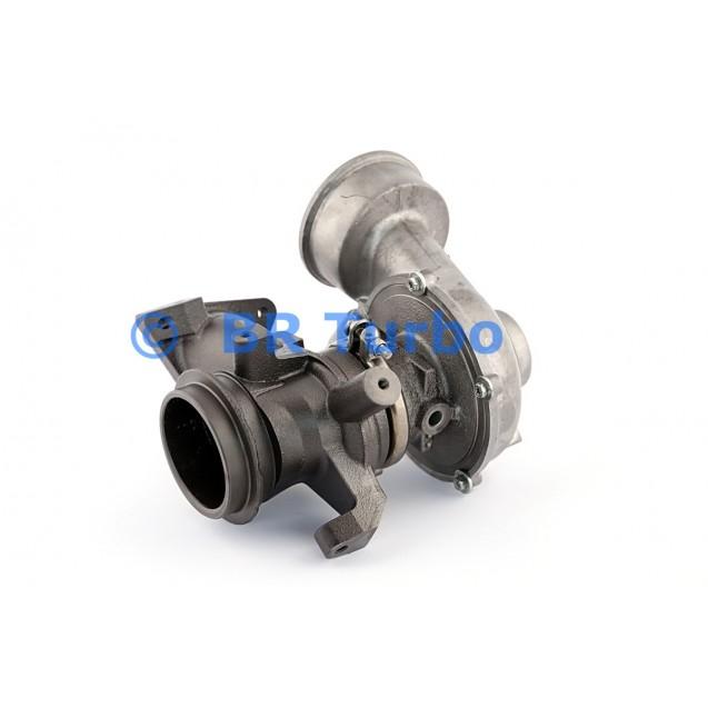 Taastatud turbokompressor MERCEDES PKW B Class 1.9 180 CDI (W245)