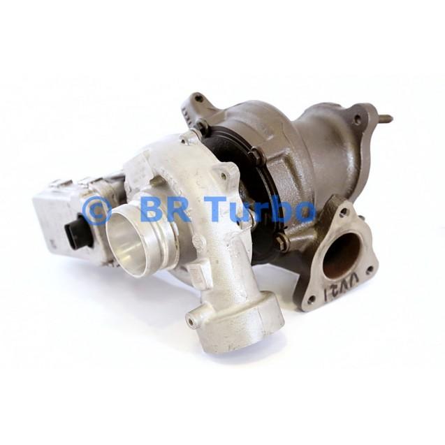 Taastatud turbokompressor MERCEDES PKW C 200 2.2 D