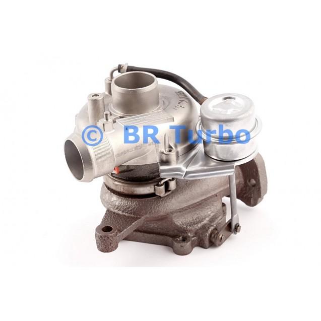Taastatud turbokompressor CITROEN C 5 2.0 HDI