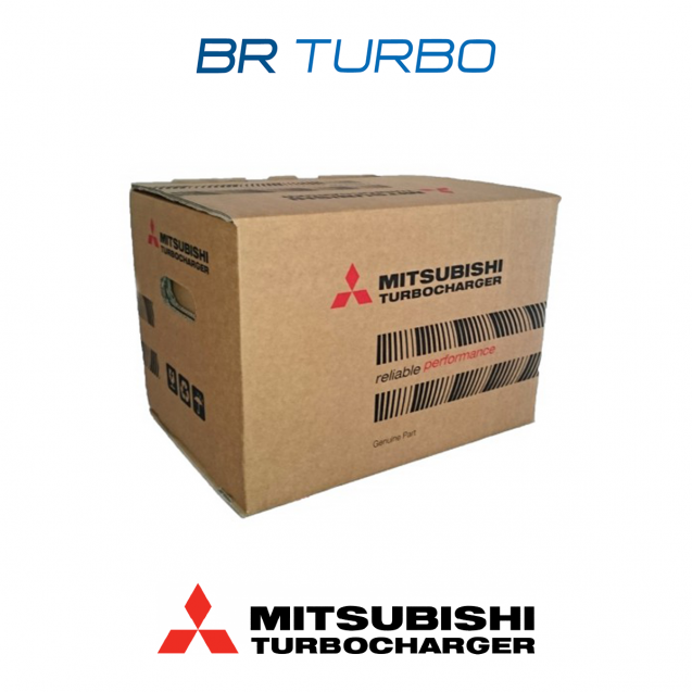 Uus turbokompressor MITSUBISHI | 4937303002
